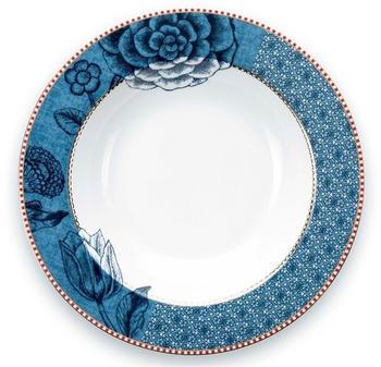 PiP Studio Spring to Life Suppenteller (21,5 cm) blau