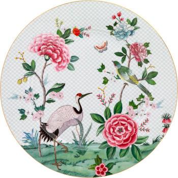 PiP Studio Blushing Birds Platzteller (32 cm) weiß