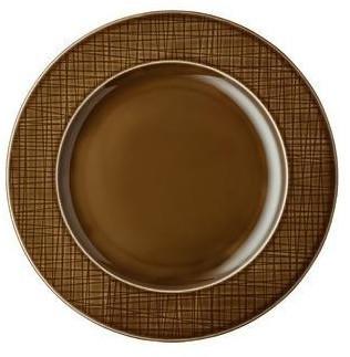 rosenthal-teller-flach-fahne-mesh-walnut-28-cm