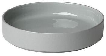 Blomus Pilar tiefer Teller (20 cm) mirage grey