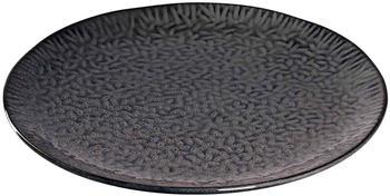 Leonardo Speiseteller Matera Keramik (32 cm) anthrazit