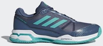 Adidas Barricade Club tech ink/hi-res aqua/ftwr white