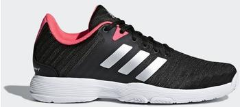 Adidas Barricade Court W core black/matte silver/flash red