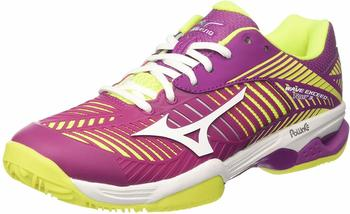 Mizuno Wave Exceed Tour 3 CC Women clover/white/safety yellow