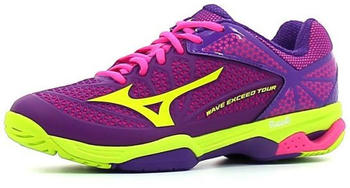 Mizuno Wave Exceed Tour 2 AC Women pansy/limepunch/electric