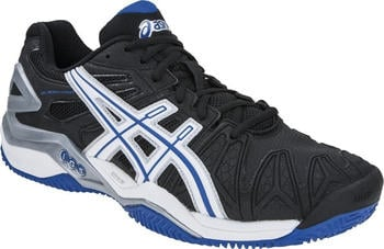 Asics Gel-Resolution 5 Clay black/white/blue
