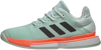 Adidas Solematch Bounce Hard Court dash green/core black/signal core