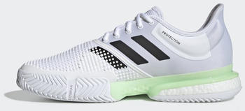Adidas Solecourt cloud white/core black/glown green