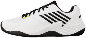 K-Swiss Aero Court HB white/black/neon yellow