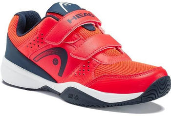 Head Sprint Velcro 2.5 Kids neon red/darkblue