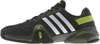 Adidas adiPower Barricade 8 black/running white/earth green