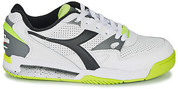 Diadora Rebound Ace white/black/lime punch
