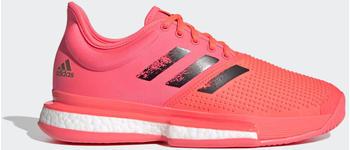Adidas SoleCourt hard court Signal Pink/Core Black/Copper Metallic