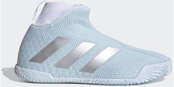 Adidas Stycon laceless hard court Sky Tint/Silver Metallic/Cloud White