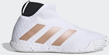 Adidas Stycon laceless hard court Cloud White/Copper Metallic/Core Black