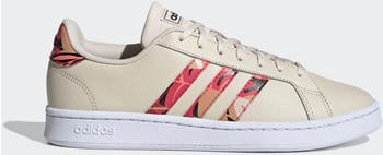 Adidas Grand Court Linen/Signal Pink/Cloud White/Coral