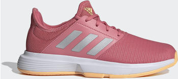 Adidas GameCourt Hazy Rose/Silver Metallic/Cloud White