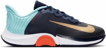 Nike NikeCourt Air Zoom GP Turbo obsidian/copa/white/metallic gold
