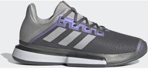 Adidas SoleMatch Bounce Tennisschuh Grey Four/Silver Metallic/Grey Two