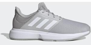 Adidas GameCourt Grey Two/Cloud White/Silver Metallic