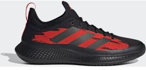 Adidas Defiant Generation Multicourt Core Black/Core Black/Solar Red Canvas
