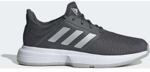 Adidas GameCourt Grey Six/Silver Metallic/Purple Tint
