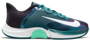 Nike NikeCourt Air Zoom GP Turbo dark teal green/white/black/green glow