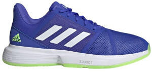 Adidas CourtJam Bounce sonic ink/cloud white/signal green