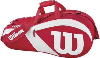 Wilson Match III 6 Pack red/white (WRZ827806)