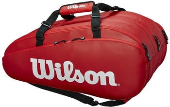 Wilson Tour 3 Comp 15 Pack red/white (WRZ847915)