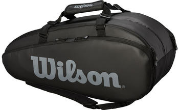 Wilson Tour 2 Comp 9 Pack black/grey (WRZ849309)