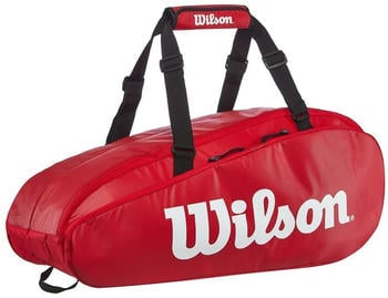 Wilson Tour 2 Comp 9 Pack red/white (WRZ848909)