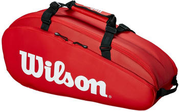 Wilson Tour 2 Comp 6 Pack red/white (WRZ847909)
