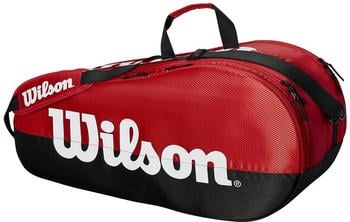 Wilson Team 2 Comp 6 Pack red/black (WRZ857909)