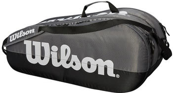 Wilson Team 2 Comp 6 Pack grey/black (WRZ854909)