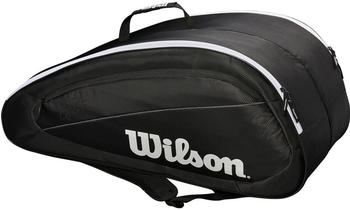 Wilson Roger Federer Team 12 Pack black/white (WRZ834812)