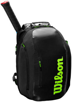 Wilson Super Tour Backpack black/lime (WR8004301001)