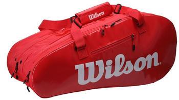 Wilson Super Tour 3 Comp red/white (WRZ840815)