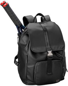 Wilson Womens Fold Over Backpack black (WRZ863996)