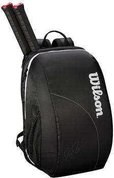 Wilson Roger Federer Team Backpack black/white (WRZ834895)