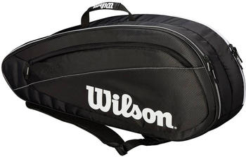Wilson Roger Federer Team 6 Pack black/white (WRZ834806)