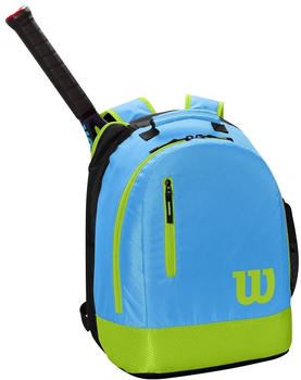 Wilson Youth Backpack light blue/lime