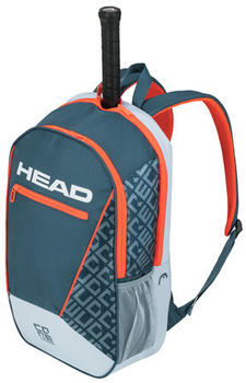 Head Core Backpack grey/orange (283539)