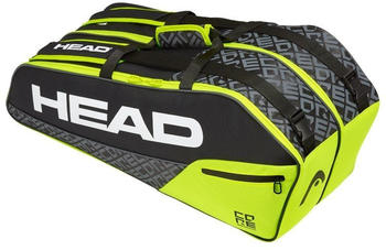 Head Core 6R Combi black/neon yellow (283519)