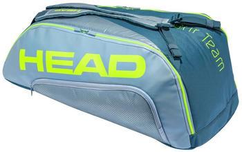 Head Racket Tour Extreme Supercombi One Size Grey / Neon Yellow