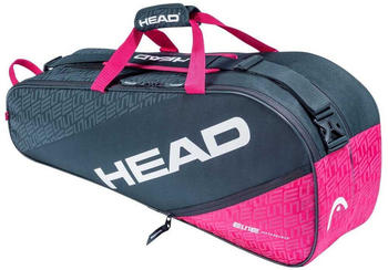 Head Racket Elite Combi One Size Anthracite / Pink