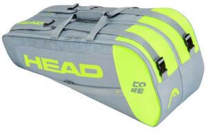 Head Racket Core Combi One Size GreyNeon Yellow