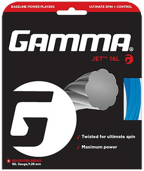 Gamma Europe Jet String 17 blue 12,2 m Set (1,22 mm)