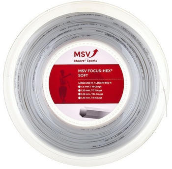 MSV Mauve Sport Focus Hex Soft 200m white 1,25mm