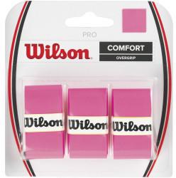 Wilson Pro Comfort Overgrip 3 Pack pink